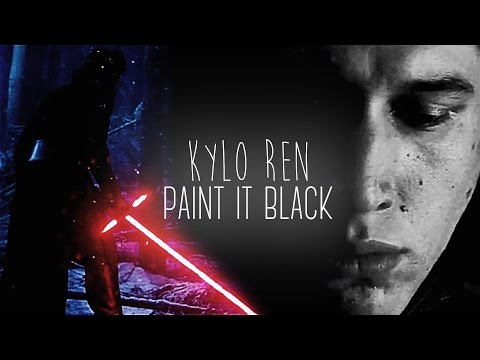 Kylo Ren | paint it black