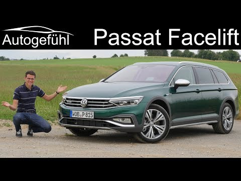 VW Passat Facelift FULL REVIEW 2020 Alltrack vs R-Line SE vs GTE comparison - Autogefühl