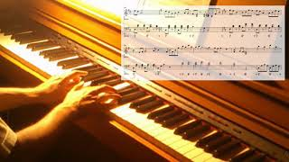ALI PROJECT「柔らかな肌」ピアノで弾いてみた