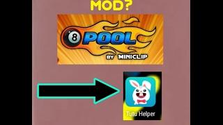 8 Ball Pool MOD|Infinite Range In Matches|TuTu Helper!!!