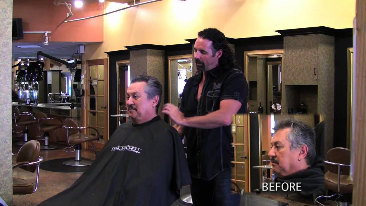 Epic Salon Flashback For Men Hair Color Youtube