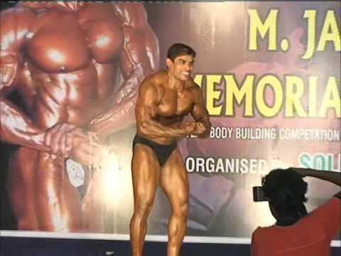 Soldiers Gym Mr India Kamraj Guest Posing