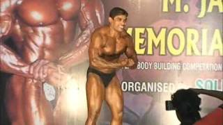 Soldiers Gym Mr India Kamraj Guest Posing