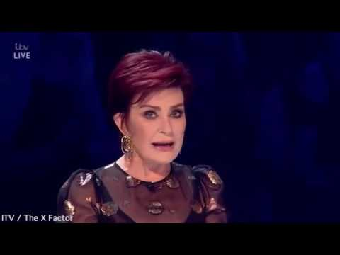 The X Factor - Sharon Osbourne forgets the name of her act!!