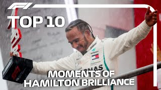 Top 10 Moments oḟ Lewis Hamilton Brilliance