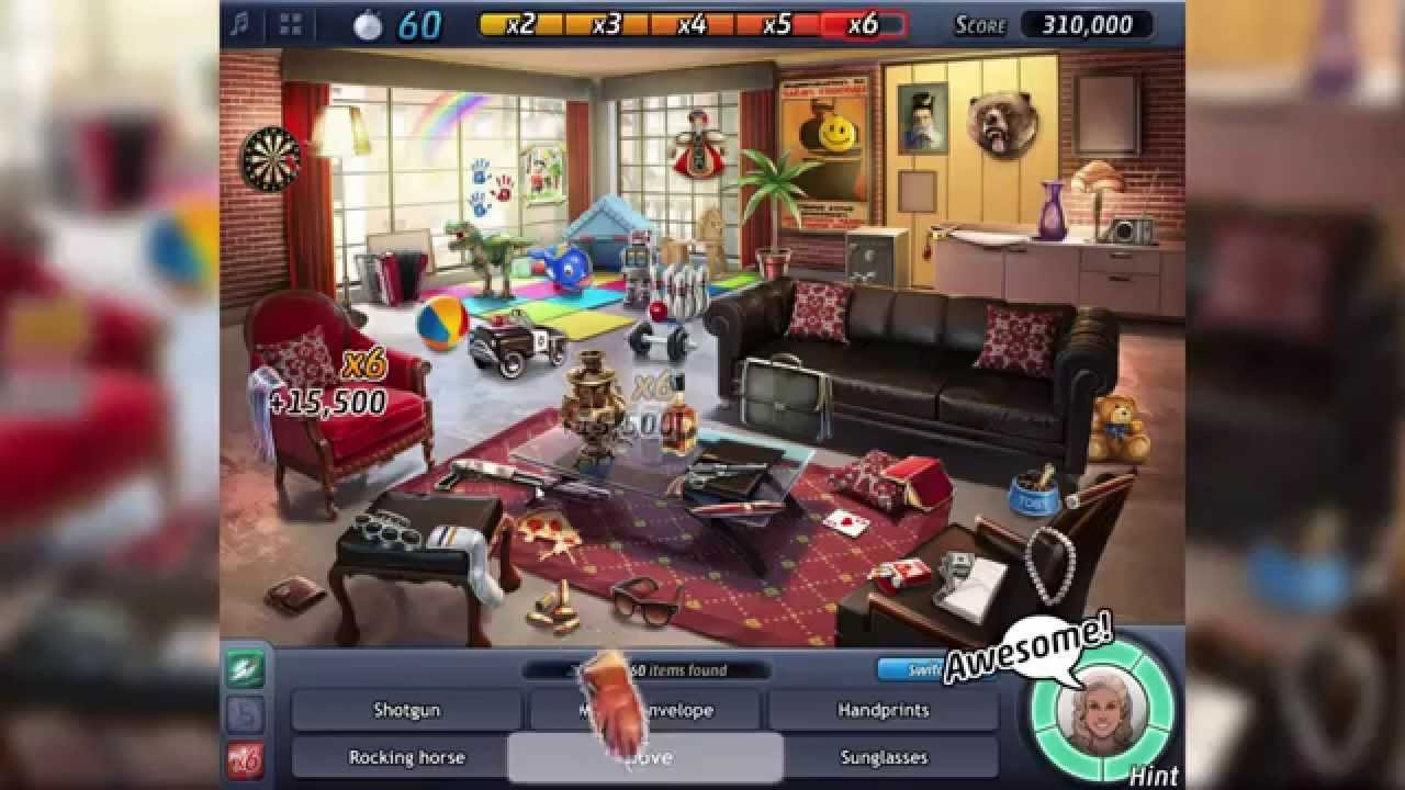 Criminal Case Pacific Bay 15 Victim S Living Room Bonus All Items You