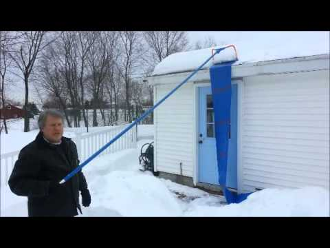 Avalanche Roof Snow Removal Youtube