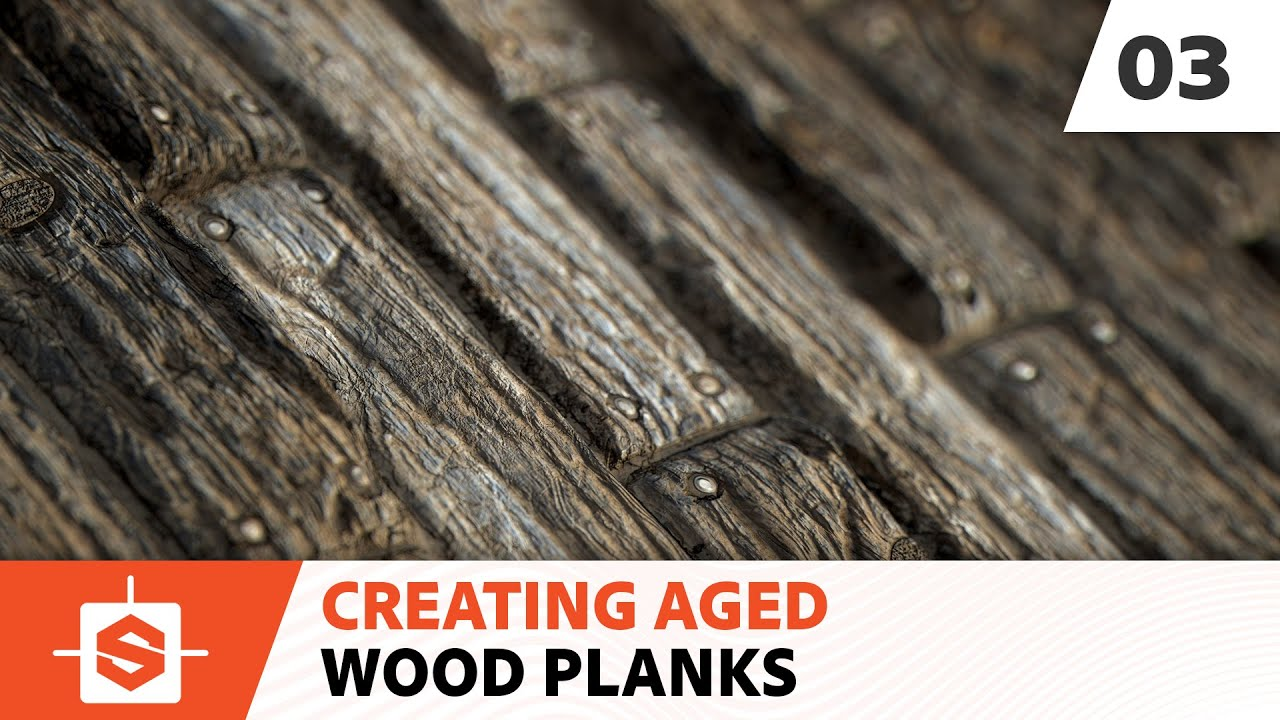 Aged Wood Planks 03 Creating The Height Map Youtube