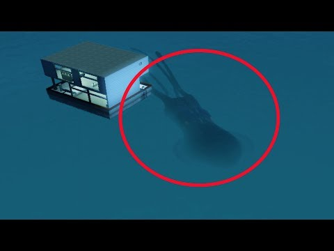 5 Mysterious Gigantic Creatures Accidentally Caught On Camera