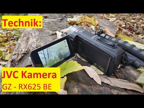 Technik: JVC Everio GZ-RX625BE Quad Proof Kamera, Camcorder │DEUTSCH #108