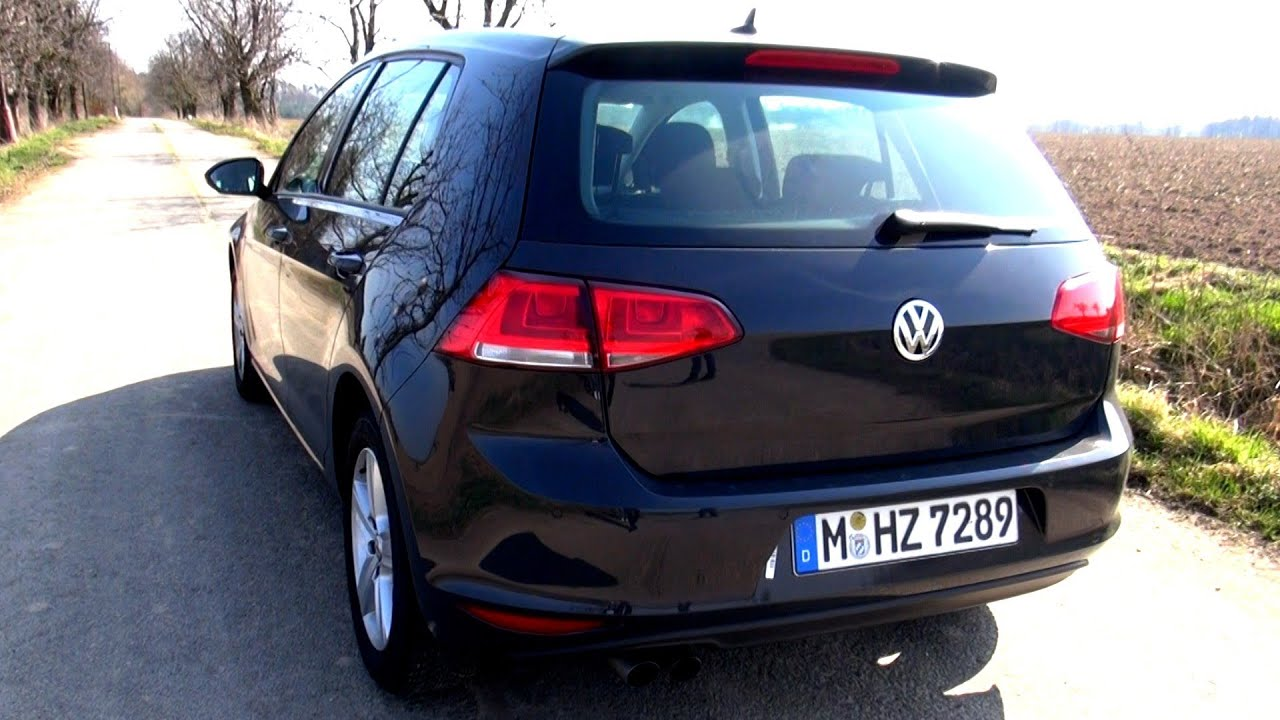 vw golf 7 2 0 tdi 150 hp test drive youtube. Black Bedroom Furniture Sets. Home Design Ideas