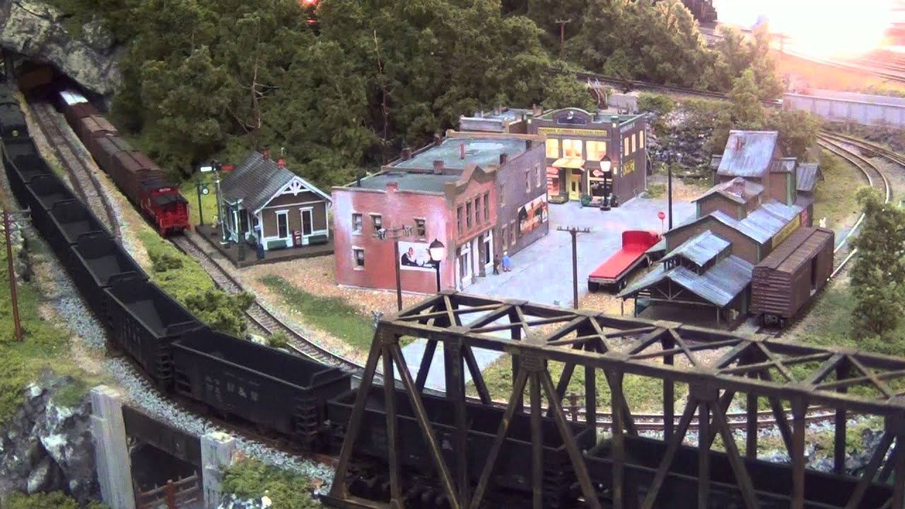 "N Scale Model Train Layout "" Tide Water Junction "" Norfolk ..."