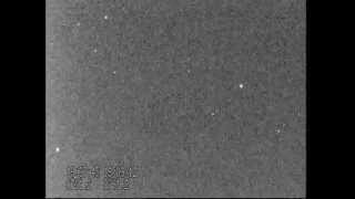 KH-12 Keyhole satellite USA 129 - footage of pass from Leiden, 19 March 2012