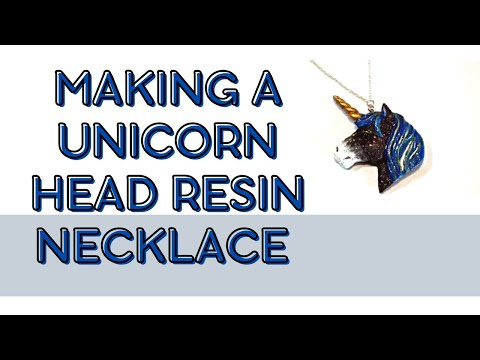 how to make a resin necklace