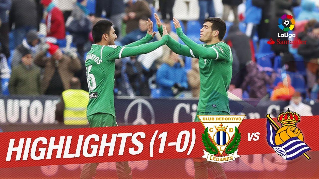 Леганес - Реал Сосьедад 1:0 видео