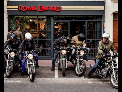 Opening Concept Store Royal Enfield - Paris (France)