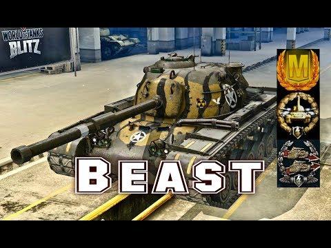 M48 Patton #2 Beast world of tank blitz Aced gameplay 5600 DMG