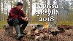 Vaellus Lapissa syksyllä 2018