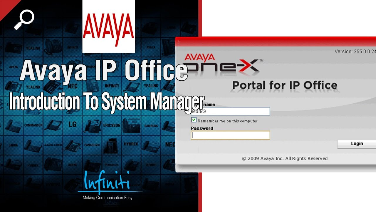 Avaya IP Office Manager - How To Control Your Own Phone