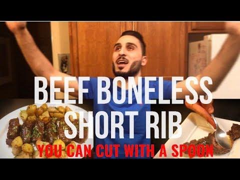 The Most Tender Boneless Beef Short Ribs Recipe