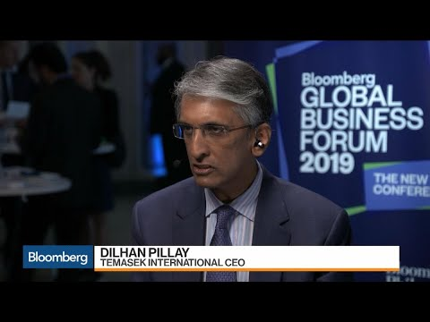 Temasek CEO Pillay on Investment Strategy, China, Sustainability
