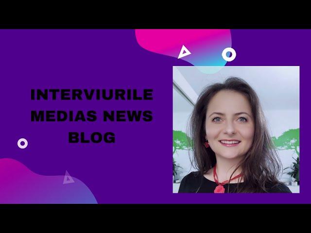 Promo: Anamaria Teglas la Interviurile Medias News Blog