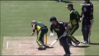 Worst missed RunOut chance in the History of Cricket