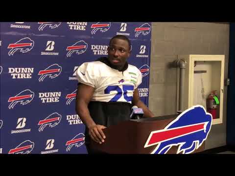 Bills' LeSean McCoy asked about trade rumors