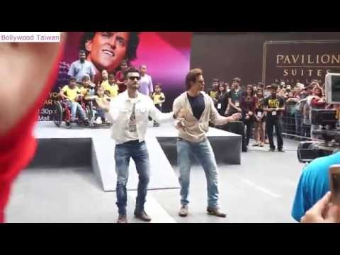 Hrithik Roshan dance at Pavilion KL for IIFA 2015
