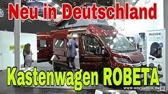 ROBETA der Kastenwagen / womoclick