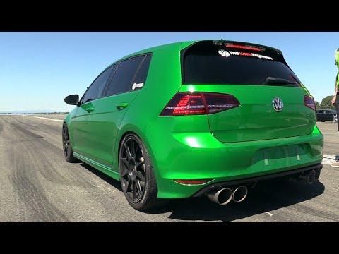 512HP VW GOLF 7 R TTE525R Turbocharger - LOUD Accelerations!!