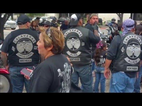 Calaveras Alice Northside Motociclistas De Alice TX