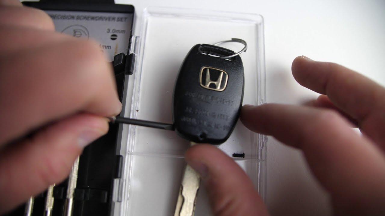 Honda Civic Key Replacement >> 2006 2013 Honda Civic Key Battery Replacement Guide