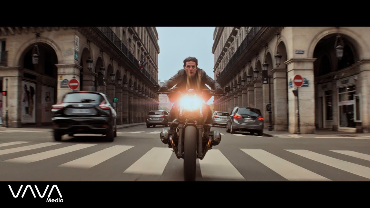 J Balvin, Willy William - Mi Gente (TheFloudy & AZVRE Remix) Mission Impossible [Chase Scene] 4K