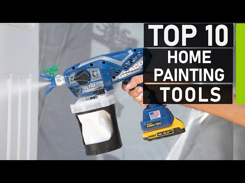 Top 10 DIY House Painting Tools & Equipment