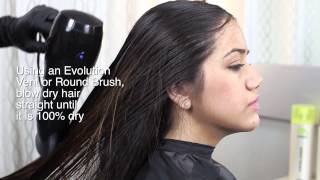 Evolution Keratin Natural & Forte Smoothing Treatment Application
