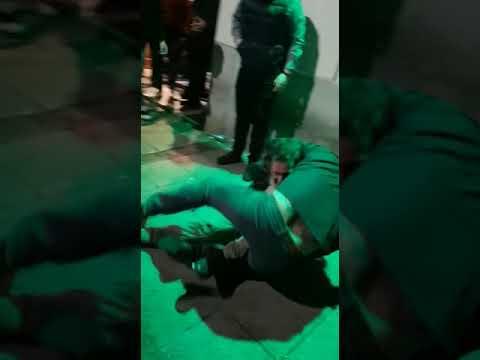 Pelea en una discoteca de Santander