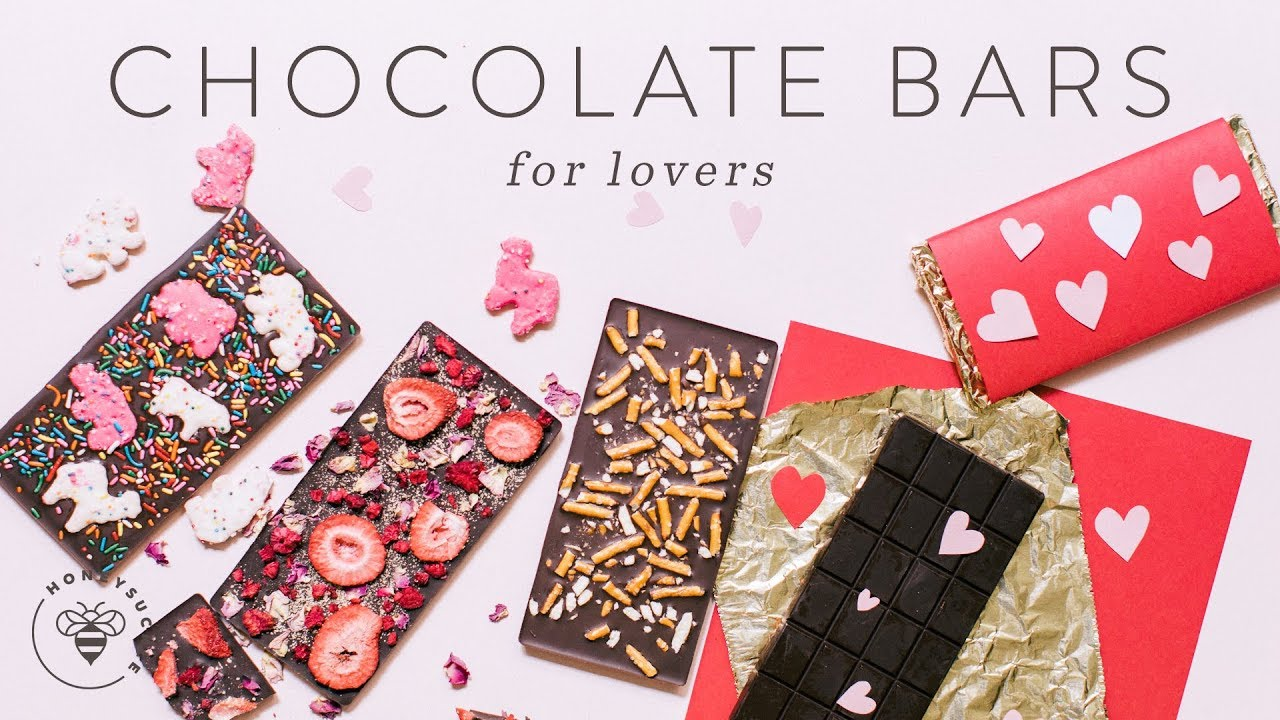 3 Diy Chocolate Bars Packaging For Valentine S Day