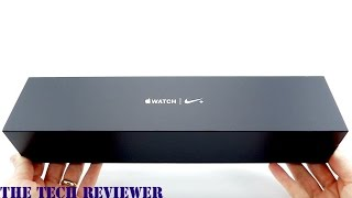Unboxing my Apple Watch Series 2 Nike+ 38mm in Black/Cool Grey