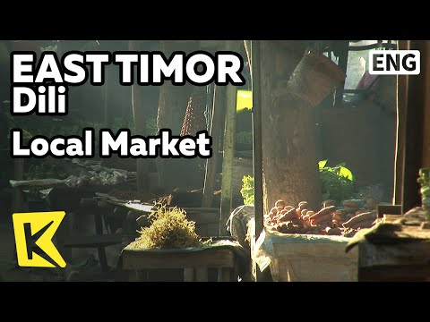 【K】EastTimor Travel-Dili[동티모르 여행-딜리]도시 최대 재래시장/Local Market/Dili