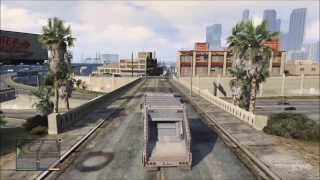 Grand Theft Auto 5 - Garbage Truck Driving Gameplay [HD]