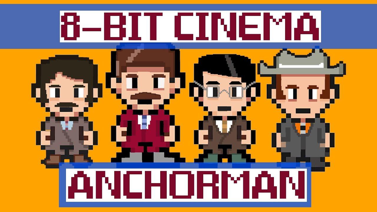 Anchorman - 8 Bit Cinema!