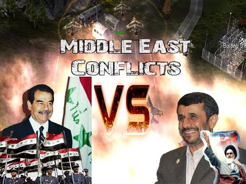 Iraq/Saddam Hussein (the Admin) vs Iran/Ahmadinedschad (Hard Army) [Middle East Conflicts]