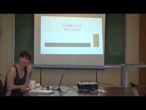 Indigo Esmonde  Work life balance and wellness for graduate students