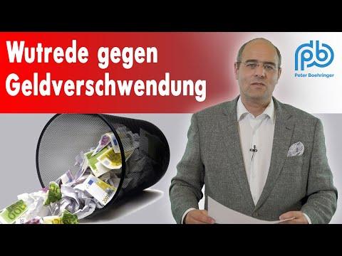 Corona rechtfertigt alles: Geldverschwendung, Planwirtschaft, Rechtsbruch – Boehringer Klartext #108