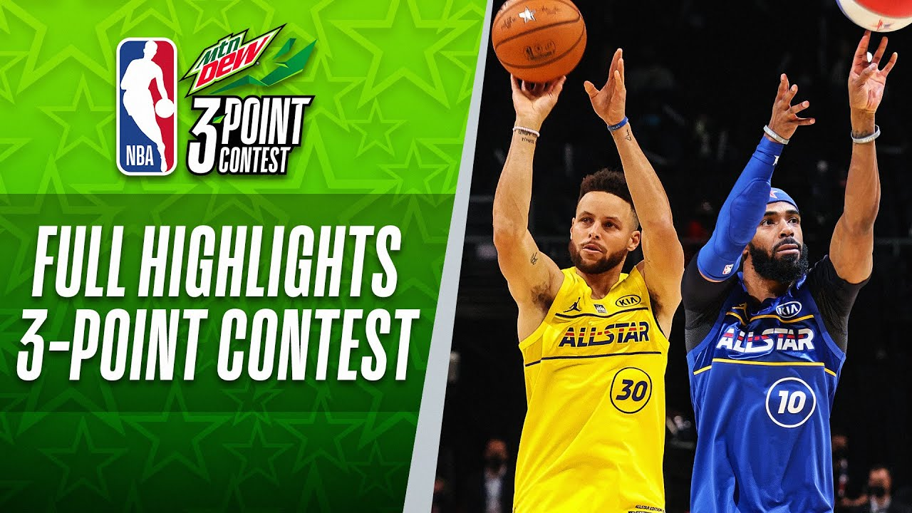 #MtnDew3PT​ Contest Full Highlights | 2021 #NBAAllStar