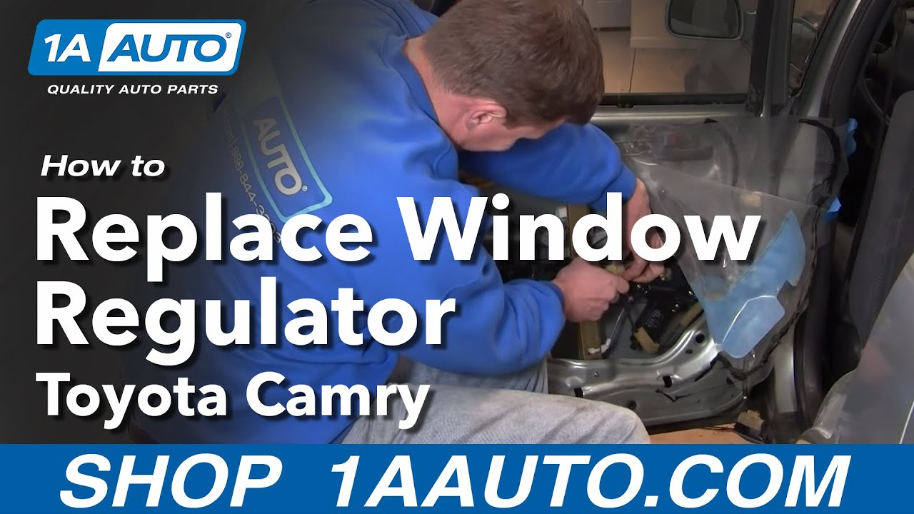 small resolution of how to replace window regulator 92 96 toyota camry
