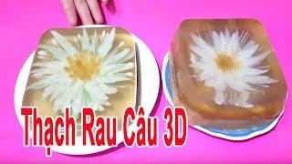 Thử Làm Thạch Rau Câu 3D Bằng Dụng Cụ Đơn Giản Tại Nhà | Góc Bếp Nhỏ
