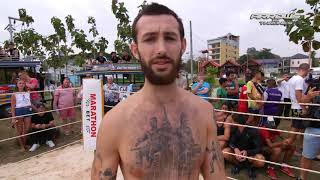 Kung Fu Soldier vs Drunk Boxer,  MMA on Phuket !!