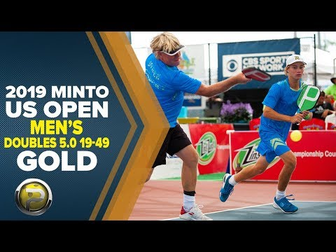 Men's Doubles 5.0, 19-49 GOLD - 2019 Minto US Open Pickleball Championships